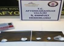 AFYON'DA KOKAİN MADDESİ ELE GEÇİRİLDİ !!