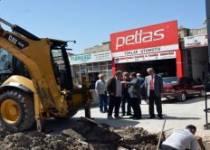 Yeni Sanayi Sitesinde Kanalizasyon Hattı Çalışması Yapıldı