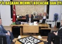 Mehmet Koca'dan Zeybek'e ziyaret !!