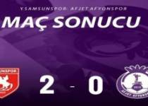 Yılport Samsunspor 2 – 0 Afjet Afyonspor'umuz