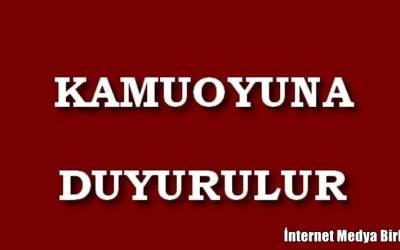 Afyon İnternet Medya Birliği, Kamuoyunu bilgilendirdi !!