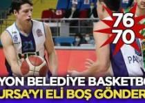 Afyon Belediyesi HDI Sigorta Bursaspor'u 76-70 yendi – Spor